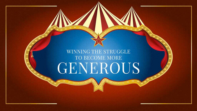 Winning The Struggle To Become More Generous