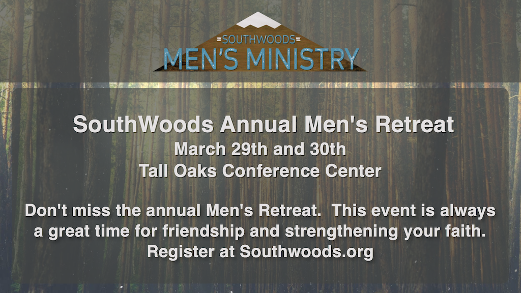 Annual Mens Retreat