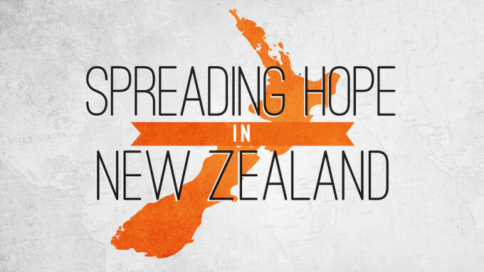 Spreading Hope In New Zealand